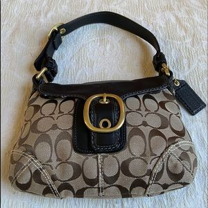 Coach mini tote purse.